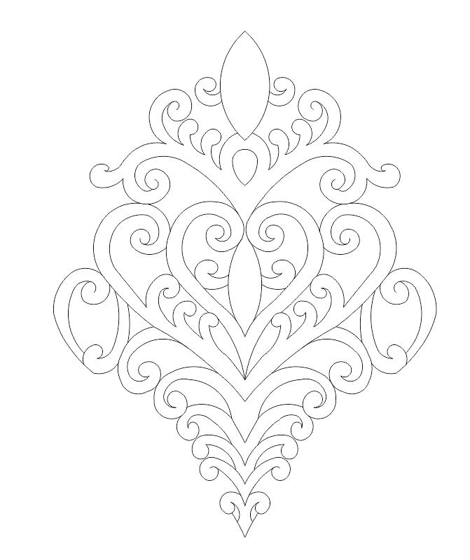 Ornament Art File Free CDR Vectors Art