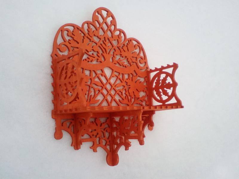 Shelf Laser Cut File Free CDR Vectors Art