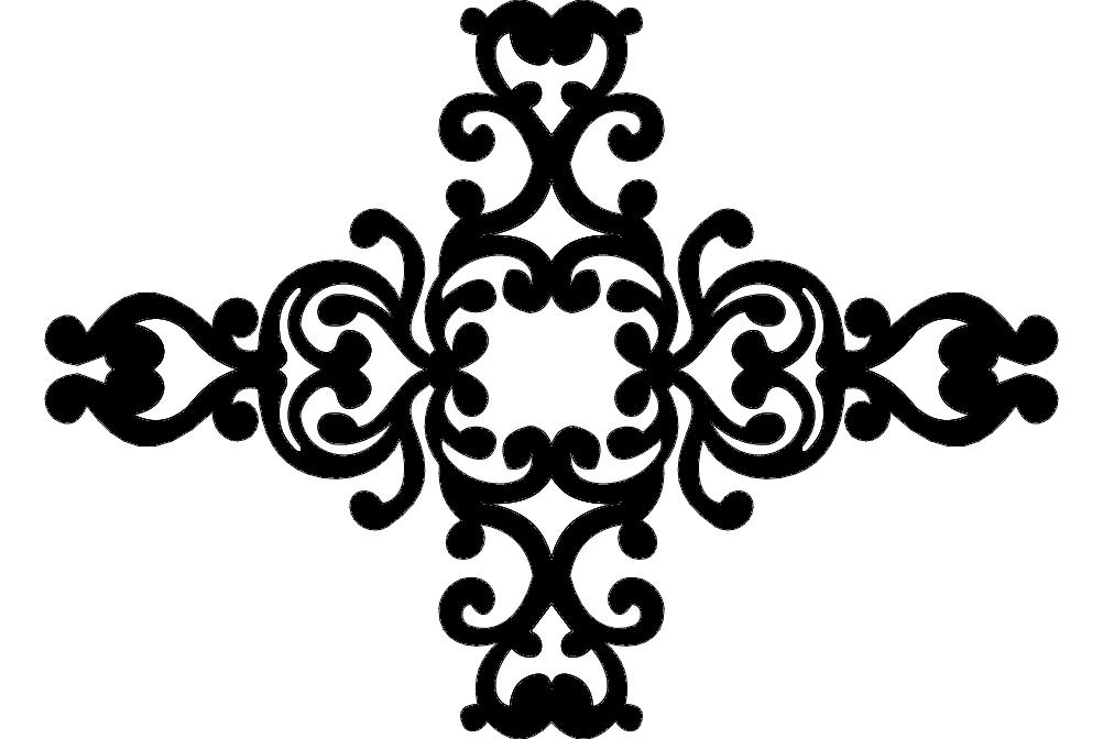 Pattern Serkan Izim Free DXF File
