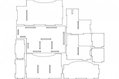 Pe Etel K Puzzle Free DXF File