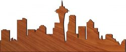 City Center Download For Laser Cut Plasma Free CDR Vectors Art