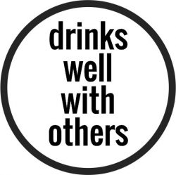 Coasters Beer Drinks Well With Others Free CDR Vectors Art