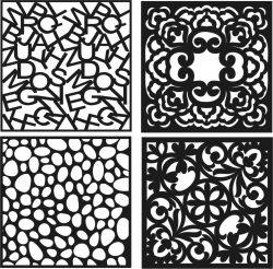 Decorative Vents Download For Laser Cut Cnc Free CDR Vectors Art