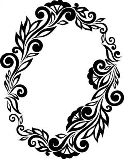 Floral Wreath Download For Printers Or Laser Engraving Machines Free CDR Vectors Art