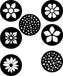 Flower Coasters Download For Laser Cut Plasma Free CDR Vectors Art