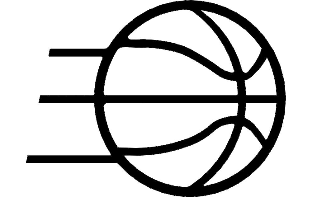 Basketball Free DXF File