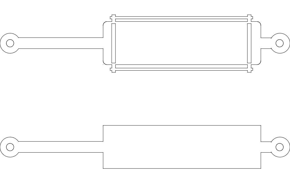 Cylinders Drawing Free DXF File