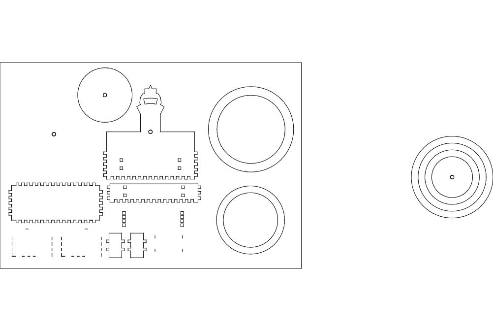 Masa Takv M Free DXF File