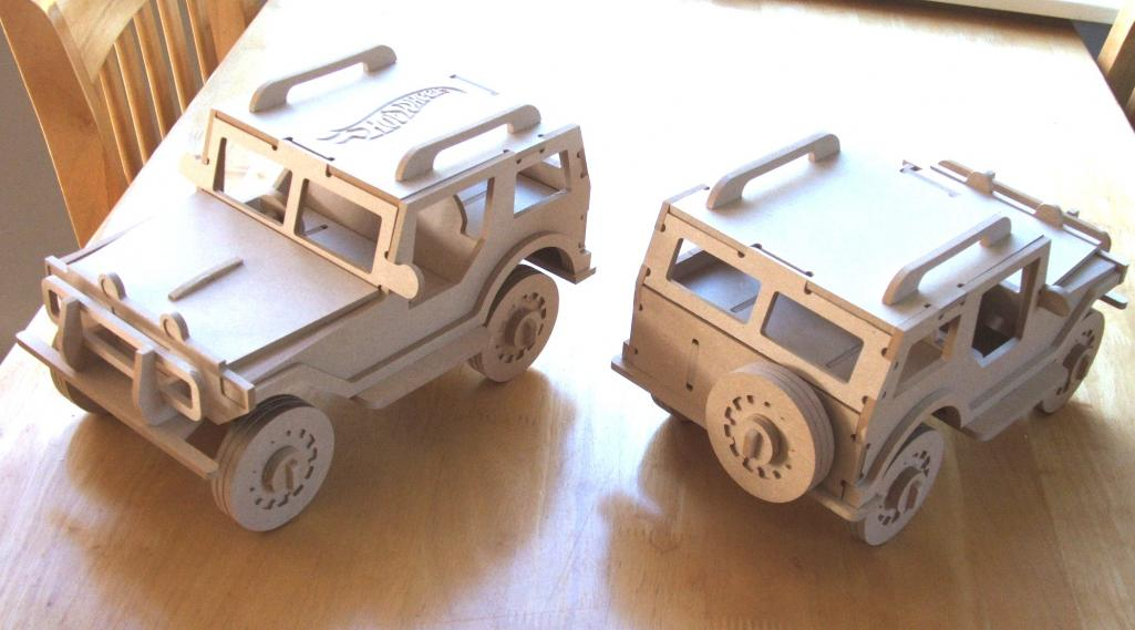 Utility Truck 4.75mm Free DXF File