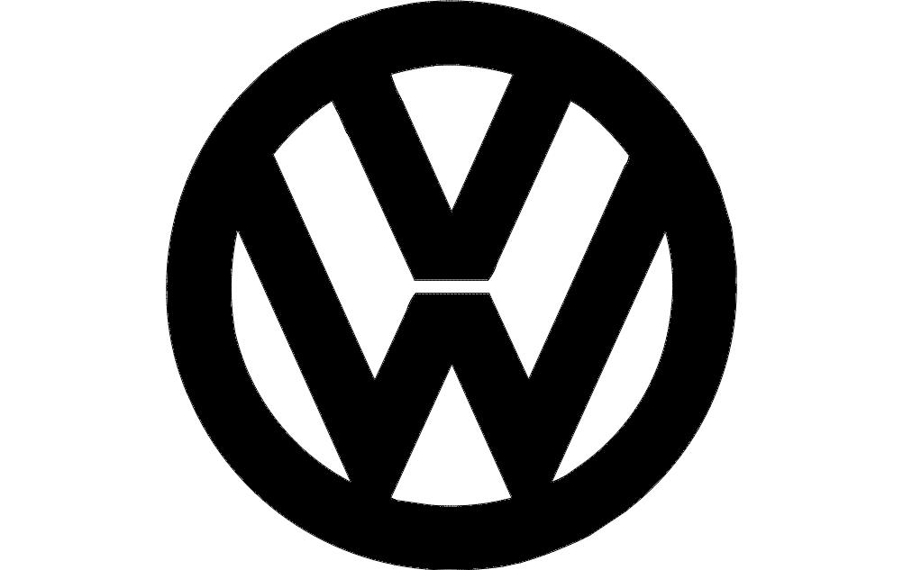 Vw Logo Free DXF File