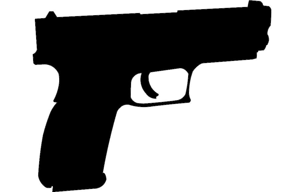 xd9mm Pistol Free DXF File