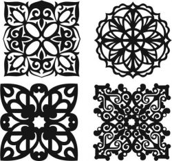 Islamic Motif Creation Download For Laser Cut Plasma Free CDR Vectors Art
