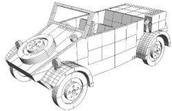 Kubelwagen Download For Laser Free CDR Vectors Art