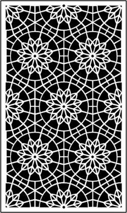 Decorative Baffle Mandala download For Cnc Cut Free DXF File