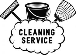 Banner Of Cleaning Service Company Free DXF File