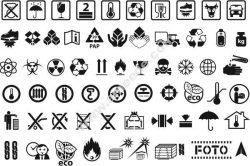 Commodity Symbol Set Free DXF File