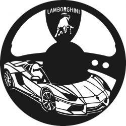 Lamborghini Super Sports Watch Free DXF File