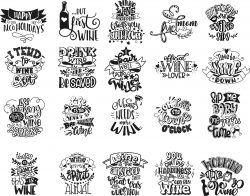 Letters Decorated Pubs Free DXF File