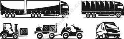 Transportation Icon Free DXF File