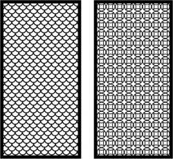 Oriental Art Dividers Download For Laser Cut Plasma Free DXF File