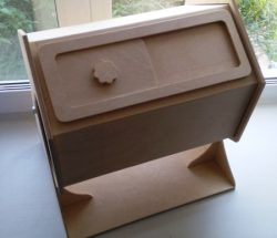 Wooden Drawer Box Download For Laser Cut Cnc Free DXF File