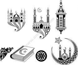 Islamic Art Free DXF File