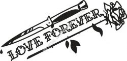 Love Forever Free DXF File