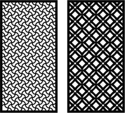 Modern Art Dividers Download For Laser Cut Plasma Free DXF File