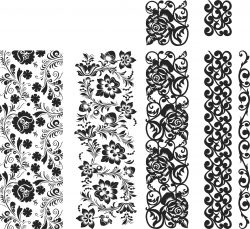 Patterns For Plotter Free DXF File
