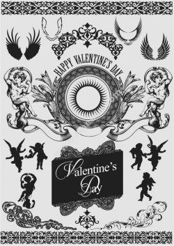 Valentine Decorative Free DXF File