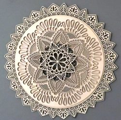 Art Mandala Download For Laser Cut Free CDR Vectors Art