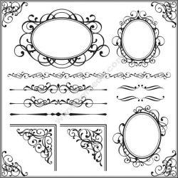 Decorative Frame Free CDR Vectors Art