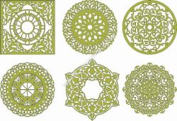 Decorative Mandala 25 Free CDR Vectors Art