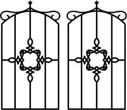 Iron Bars Spiral Shaped Download For Laser Cut Plasma Free CDR Vectors Art