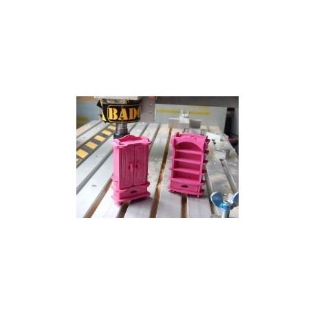Barbie Shelfs Free DXF File