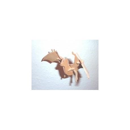 Bat 3d Puzzle Free DXF File