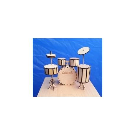 Drum Kit Free DXF File