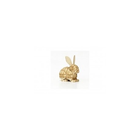 Rabbit 3d Puzzle Free DXF File