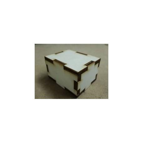 Simple Parametric Box Generator For Laser Cut Free DXF File