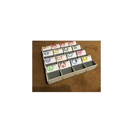 Trading Card Sorting Box Free DXF File