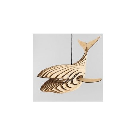 Whale Lamp 4mm New Free DXF File