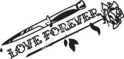 Love Forever Free CDR Vectors Art