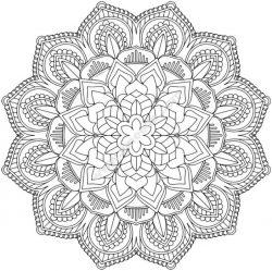 Mandala Design 12 Free CDR Vectors Art