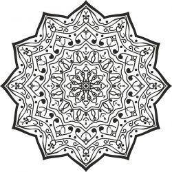 Luxury Mandala Designdownload For Print Or Laser Engraving Machines Free CDR Vectors Art