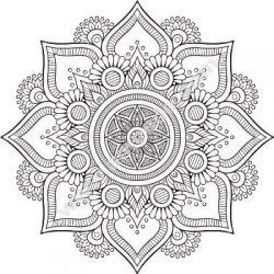 Mandala Floral Designs Free CDR Vectors Art