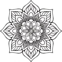 Mandala Indian Design Free CDR Vectors Art