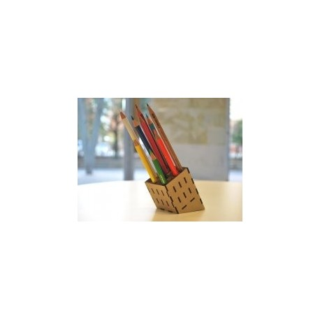 Mdf Pencil Stand Free DXF File