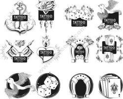 Oldscholl Tattoo Free CDR Vectors Art