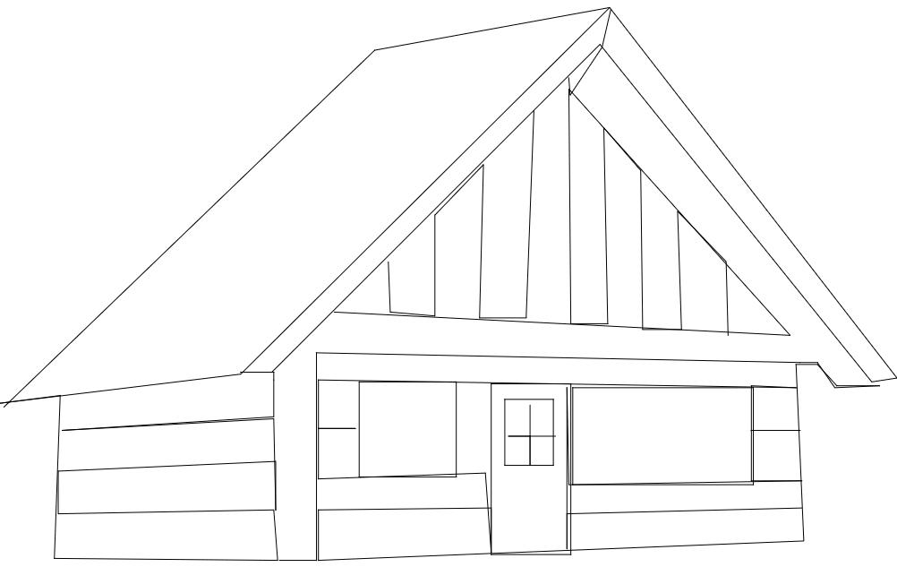 Cabin Free DXF File