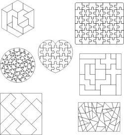 Pieces Assembled Into An Art Form Download For Laser Cut Plasma Free CDR Vectors Art